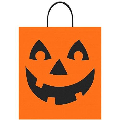 Amscan International 37035140x 35cm Jack O Laterne behandeln Taschen (Box Jack The Halloween In)