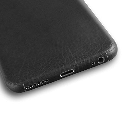 appskins Lot de 6films iPhone Leather Black