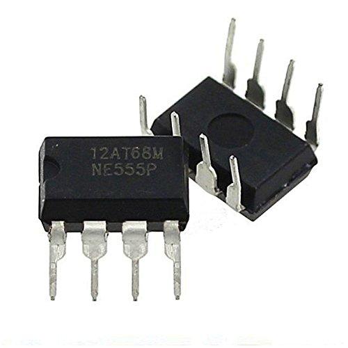 555-timer-schaltungen (Merssavo 20 Pcs Dip-8 NE555N NE555 Hohe Präzision Oscillator Timer Neue IC Timer Chip)