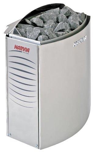 Harvia Vega Saunaofen - BC80E 8,0 kW wird separates Steuergerät benötig, Edelstahl