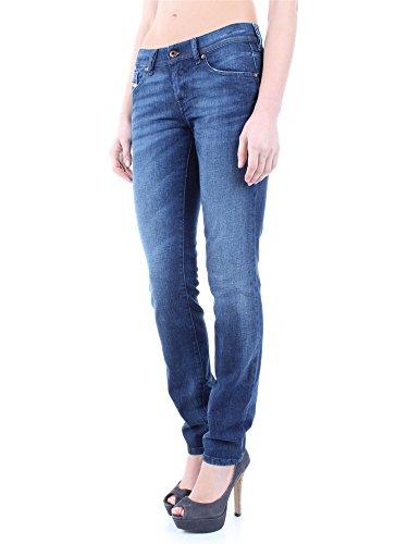 Diesel Francy 084BH pantalon stretch jeans femmes Skinny Zen et détente Bleu