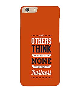 PrintVisa Designer Back Case Cover for Micromax Canvas Knight 2 E471 (Quote Love Heart Messages Crazy Express Sorry )