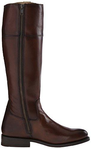 Frye Jayden Button Tall Femmes Cuir Botte Redwood