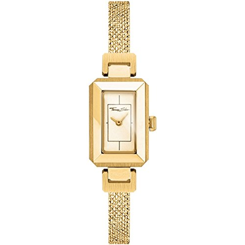 Thomas Sabo Donna - Orologio Da Donna Mini Vintage oro giallo Analogo Quarz WA0299-291-202-38 mm