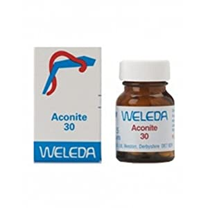 Weleda Aconite 30c 125 tablet X 2 (Pack of 2)