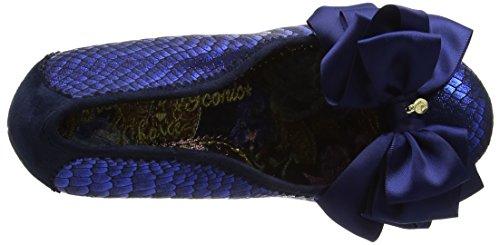 Irregular Choice Ascot - Escarpins Femme Blue (Blue Metallic)