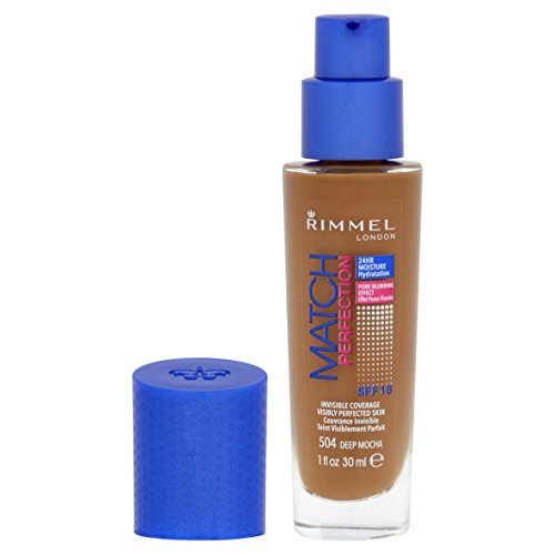 Rimmel Match Perfection Foundation - Deep Mocha