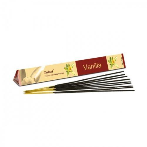 Tulasi Rucherstbchen (Vanilla) - 15 Stick-Pack-Tri
