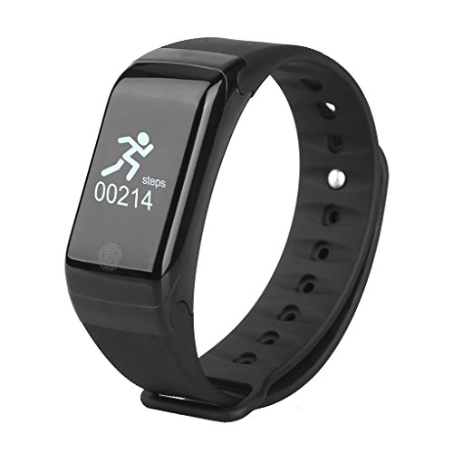 Bobury intelligente orologio con bluetooth 4.0 ip67 impermeabile attività sala fitness tracker band con sleep salute monitor pedometro calorie step counter per android e ios