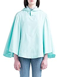 Herschel Voyage Women's Poncho Jacket Lucite Green 40UK 50EU