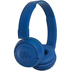 JBL Harman T450 On-Ear Lightweight Foldable Bluetooth Headphones - Blue
