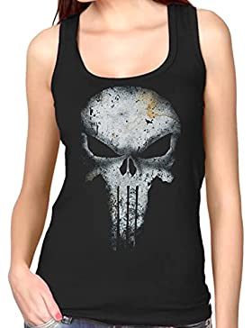 35mm - Camiseta Mujer Tirantes - The Punisher - El Castigador - Women'S Tank Top