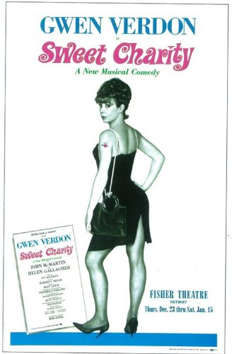 Sweet Charity Plakat Broadway Poster (11 x 17 Inches - 28cm x 44cm) (1966)