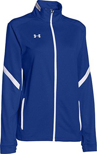Team Warm Up Jacke (Under Armour Damen UA Qualifier Knit Warm Up Jacke, team royal/white)