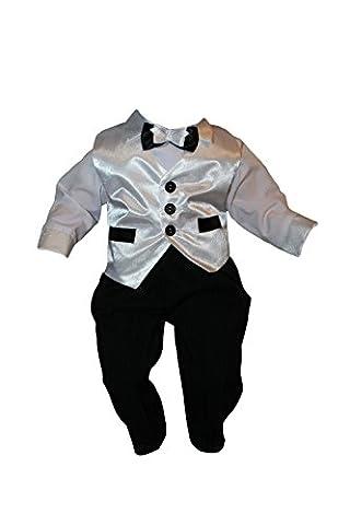 Costume de Baptême, Costume de fête, Costume Garçon, 5 pièces,