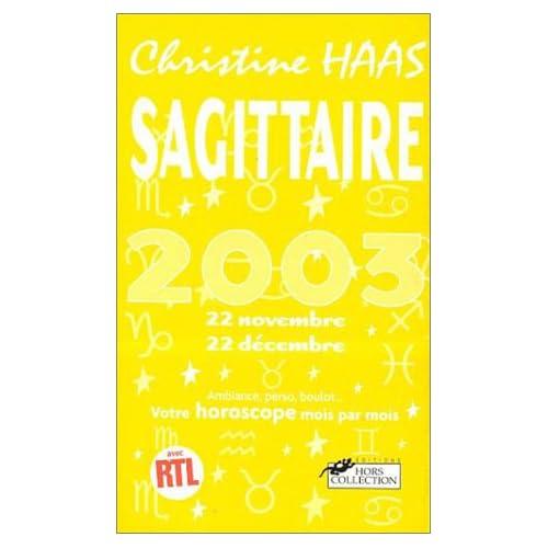 Sagittaire Astro 2003