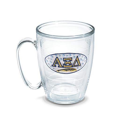 Tervis Alpha Xi Delta Sorority Mug, 16 oz, Clear -