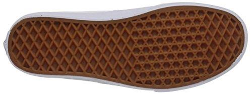 VansU Authentic Decon Scarpe da Ginnastica Basse, Unisex Adulto Bianco (Black/Black)