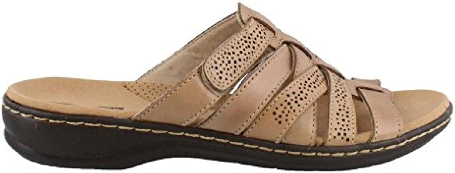 Clarks Wouomo Leisa Field Sand Leather 6 6 6 D US | Commercio All'ingrosso