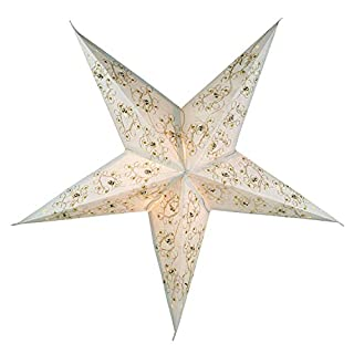 Innenräume Draußen Lichterketten Led Streifen Weihnachts Innenbe Außenbe Lauflichter Lichtschläuche Paper Star / Weihnachtsstern Plato / Paper Star `Advanced 5` / Variante: Farbe: Naturweiß