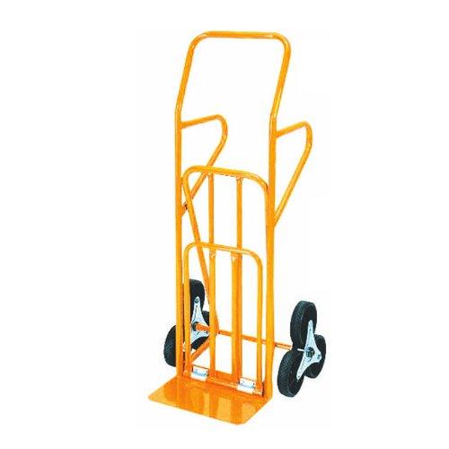 Carrello portacasse acciaio ruote in gomma max 200 Kg cm 55X57X H.120