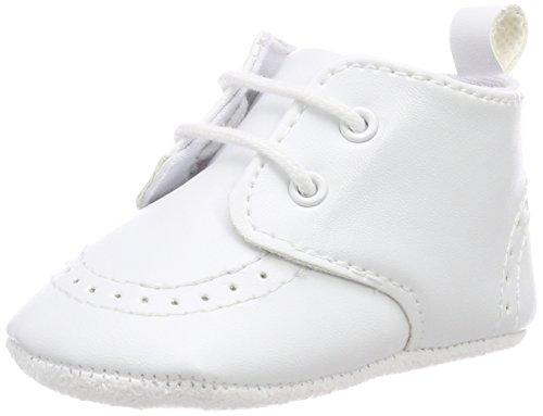 Sterntaler Erstlings-Schuh mit Schnürbänder für Mädchen, Alter: 0-3 M (14), Weiß (Baby Schuhe Weiß Leder)