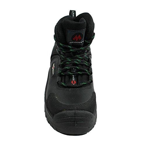 ware Preto Profissionais Alta De Segurança S3 Trabalhar Sapatos B Sapatos Asa Aimont Sapatos De TwqO8n7TR