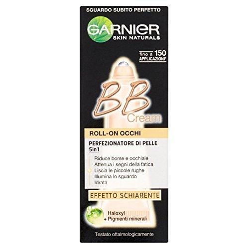 Garnier bb cream roll-on occhi perfezionatore di pelle 5 in 1, 7 ml