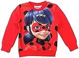 Miraculous Ladybug Sudadera - para niña Rojo 6 años