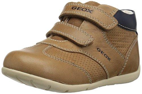 Geox Baby Jungen B Kaytan A Sneaker, Beige (Caramel/Navy), 23 EU