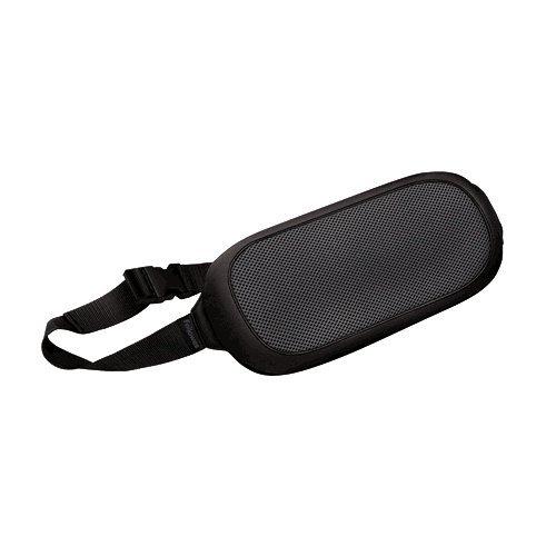Fellowes I-Spire Series - Cojín lumbar portátil, color negro