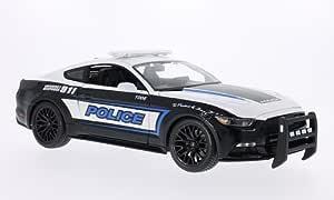 Ford Mustang Gt Police 2015 Modellauto Fertigmodell Maisto 1 18 Spielzeug
