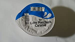 Purchase 50 x Tassimo Latte Caramel Macchiato Creamer T-discs (Sold Loose) Large T-disc by Tassimo