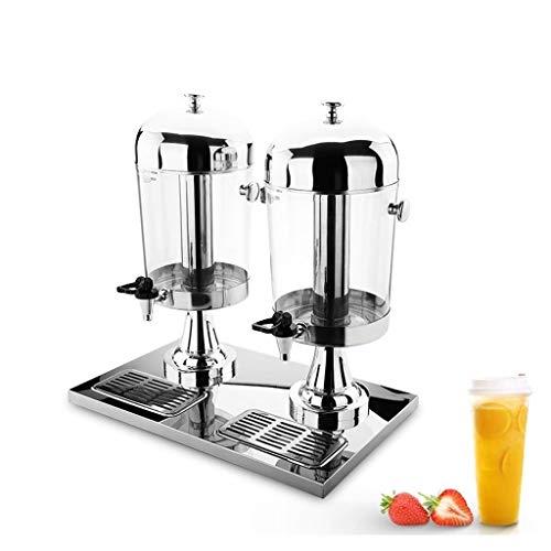 MYXMY Restaurante de la máquina de Bebidas Simple de Verano con máquina de zumos multifunción autoservicio Equipo de Salida de Agua de Cola de Escritorio Inteligente Creativo (Size : Double Barrel)