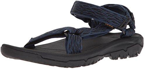 Teva m hurricane xlt2, sandali a punta aperta uomo, blu (rapids insignia blue), 43 eu