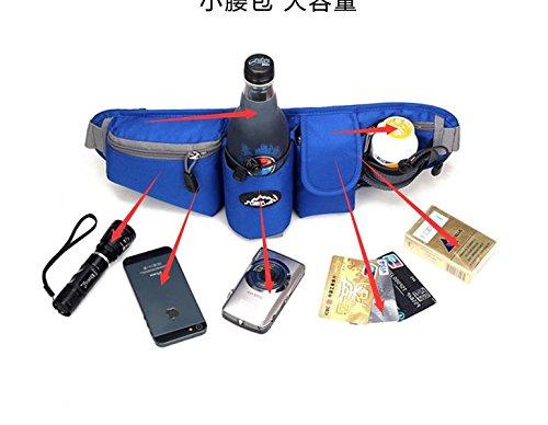 Xiuxiandianju 20L all'aperto tasca tasche tasche sport Equitazione , khaki Blue