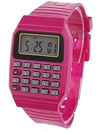 BEIBEILE Relojes para Niños Reloj Digital De Silicona Casual Niños Niños Reloj Deportivo Fecha Hora Calculadora