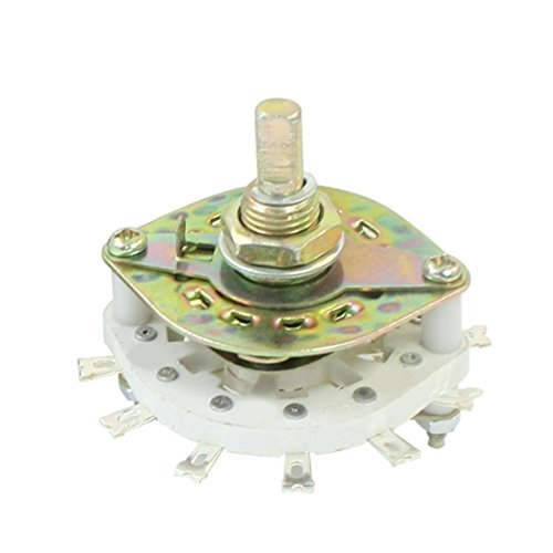 KCT1 * 9 1P9T 1 Pole Single Gooi 9 lijkwade kanaliseren Rotary Switch -