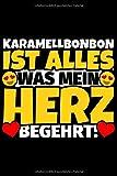 Notizbuch liniert: Karamellbonbon Geschenke für Karamellbonbon-Liebhaber lustig