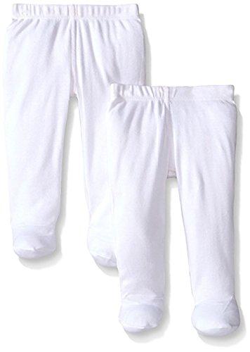 Monvecle unisex bambino 2pezzi cotone per neonati bambini pantaloni lunghi 0–3Y Bianco 3 6 Mesi