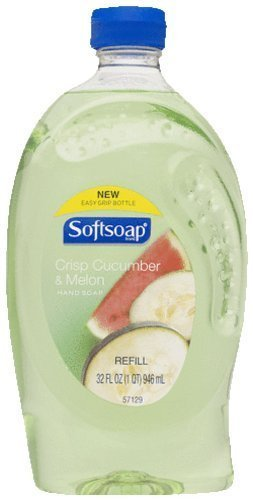 Softsoap Hand Washes and Sanitizers Softsoap crisp cucumber & melon hand soap