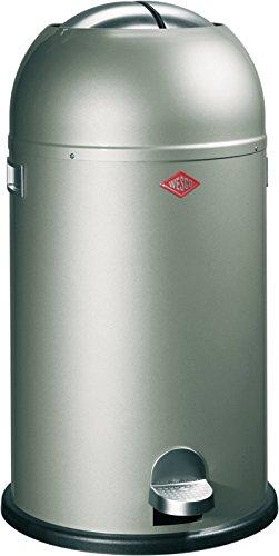 Küche Standard Mülleimer (Wesco 184 631-03 Abfallsammler Kickmaster neusilber)