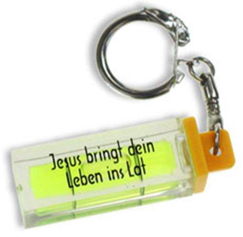 °°2978 Schlüsselanhänger Wasserwaage mini