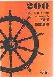 200 questions et reponses de l'examen du permis de conduire en mer