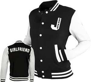 "Justin Bieber ""Girlfriend"" Varsity Baseball jacket (Large)"