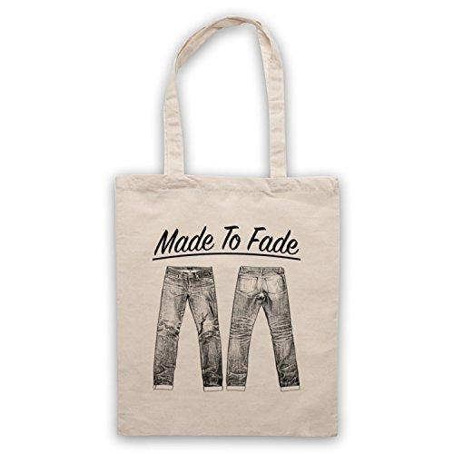 Made To Fade Denim Jeans Umhangetaschen Naturlich