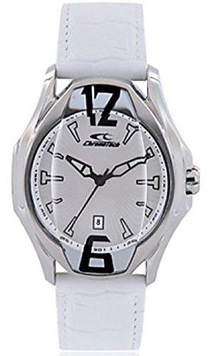 Orologio Uomo CHRONOTECH BEYOND RW0030 Pelle Bianco