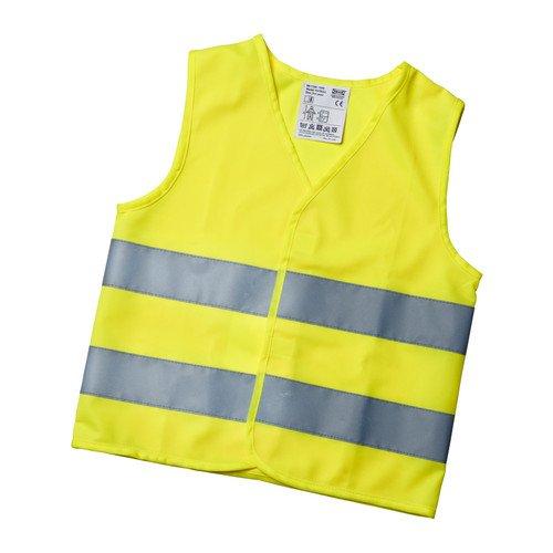 Schule Freundlich Kostüm - IKEA PATRULL Reflektorweste in gelb; 3 bis 6 Jahre