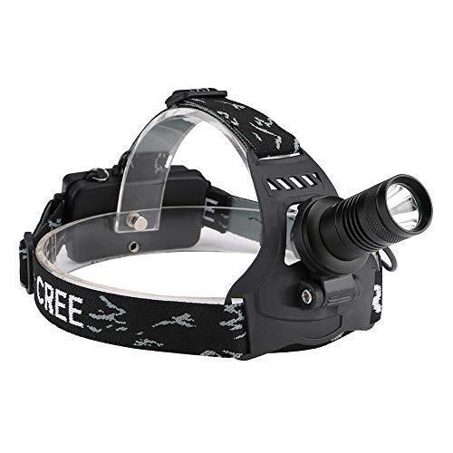 Super helle LED-Stirnlampe, Blendung-Haupttaschenlampen-Arbeits-Hauptscheinwerfer-wasserdichte Stirnlampe, Fokus justierbare Scheinwerfer-Taschenlampe für Fischen, Jagd, Lesung