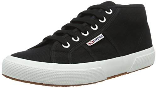 Superga Unisex Adulti 2754 Cotu Top Nero (nero-bianco)